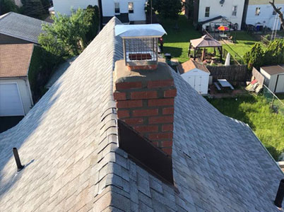 Chimney Asphalt Flashing Repair Ho-Ho-Kus NJ