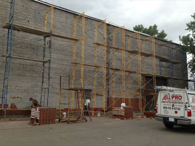 Block Wall Repair Haworth NJ